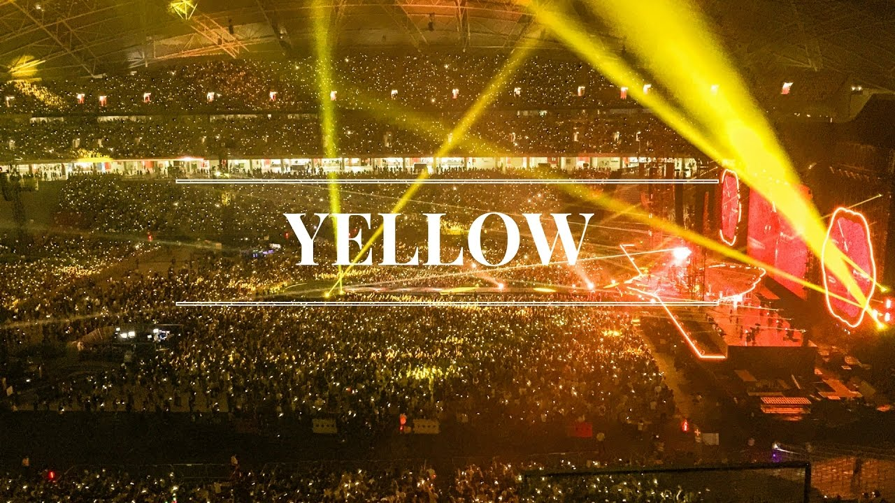 YellowConcertColdPlay
